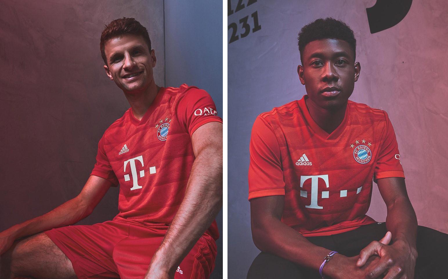 Новая форма Баварии Мюнхен 2019/2020
