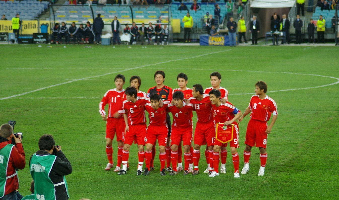 Сборная Китая 2008