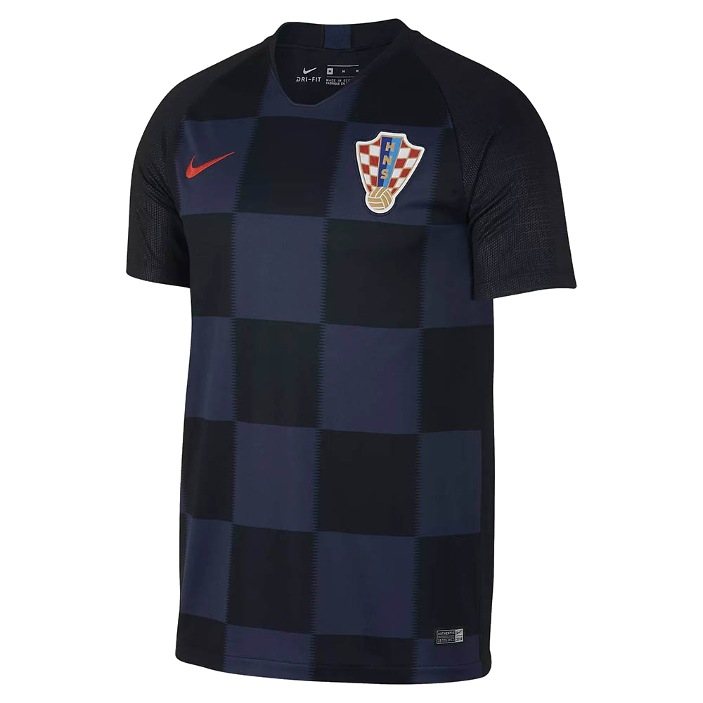 Гостевая футболка сбороной Хорватии 2018