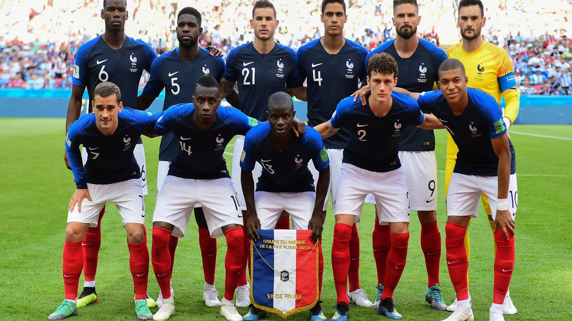Сборная Франции 2018