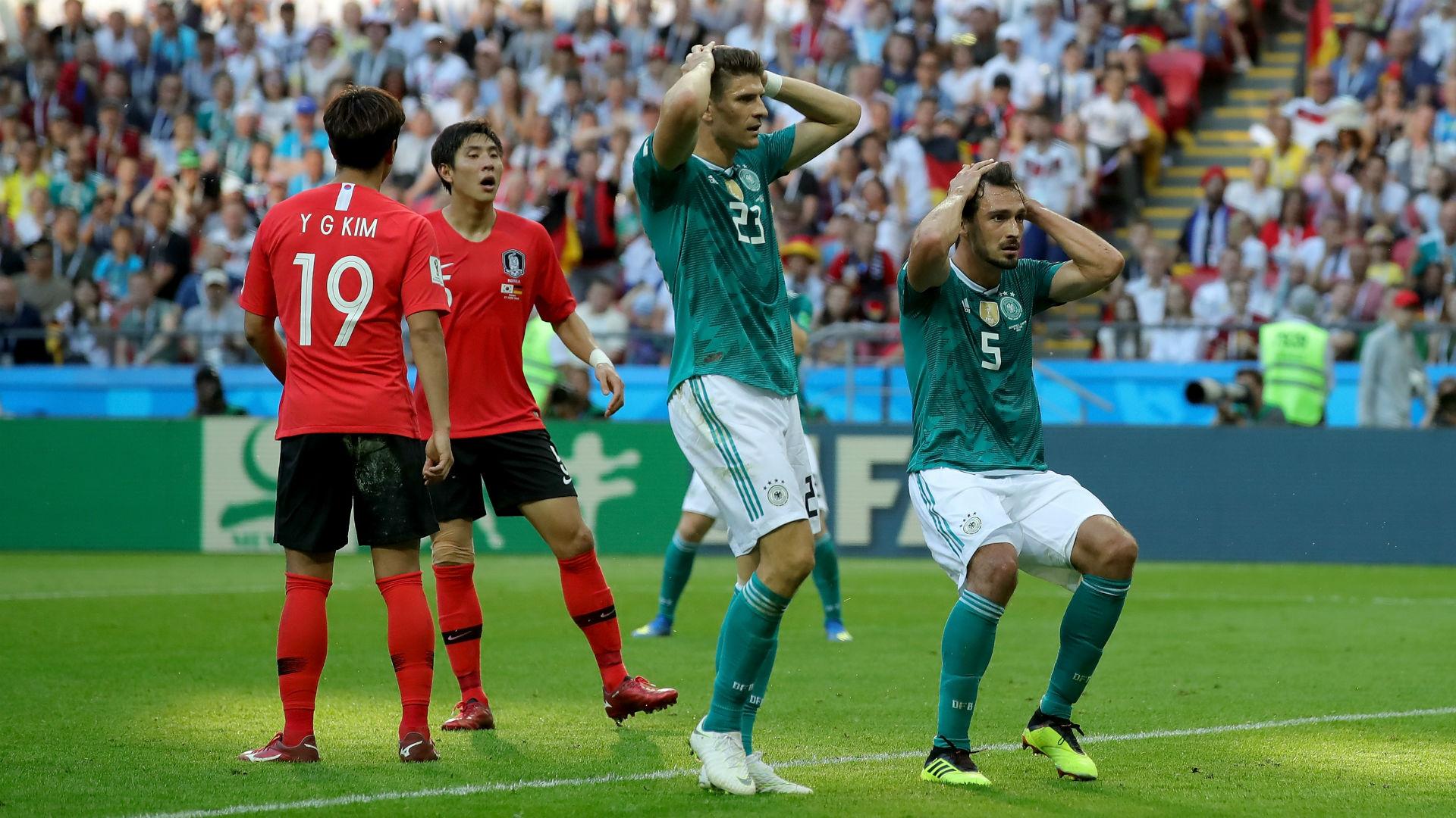 Победа Южнокорейской сборной против Германии со счётом 2-0, в групповом этапе ЧМ 2018