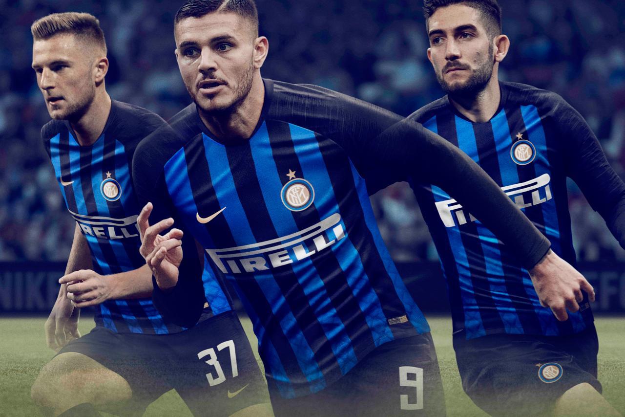 Новая домашняя форма Интер Милан в сезоне 2019/2020