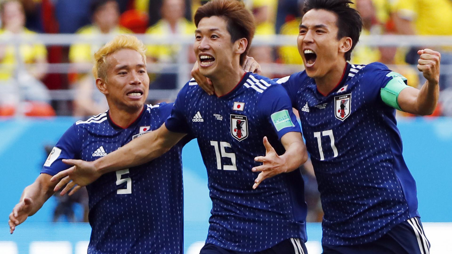 Япония обыграла Колумбию в групповом этапе ЧМ 2018