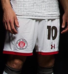b27692ec2c19 Форма футбольного клуба Санкт-Паули 2017 2018 (комплект  футболка + шорты +