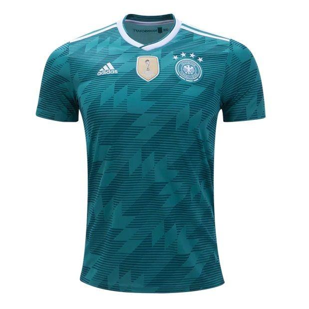 Купить Футболка сборной Германии по футболу ЧМ-2018 Гостевая по цене ... dab5d99240c